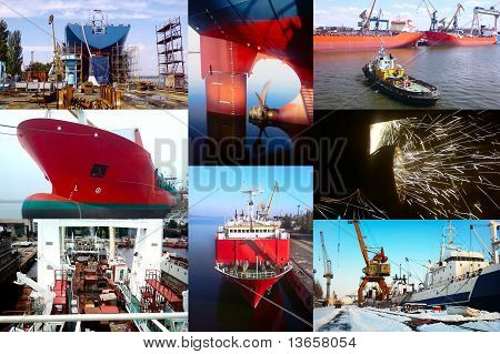 Shipbuilding Background
