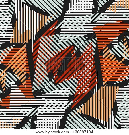 bright colorful geometric pattern Graffiti vector illustration abstract high quality