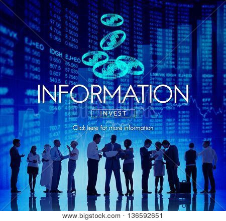 Information Content Research Sharing Statistics Concept