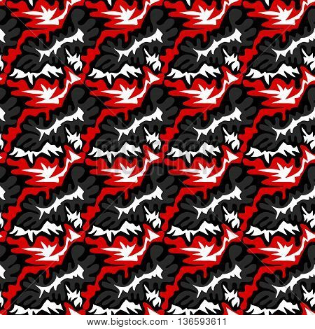 Red graffiti pattern seamless background vector illustration abstract high quality