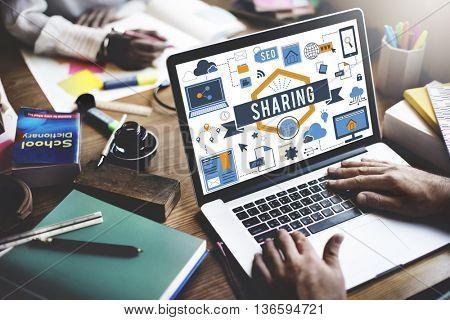 Internet Connection Education Concept