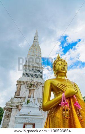 Wat Tha Uthen in Nakhon Phanom, Thailand.