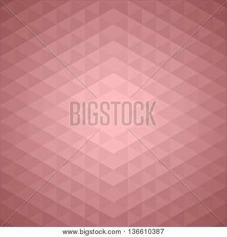 Stylish Pattern, Background made of Triangles in trendy Colors Vinous, Burgundy, Maroon, Claret. Can be used for wallpaper, pattern fills, web page background, surface textures.