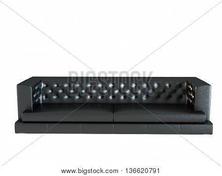 3D Rendering Of A Modern Sofa