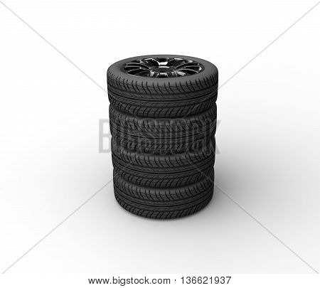 tire cars vehicle transport  pc render pc render