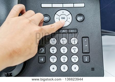 Use IP phone to make a call