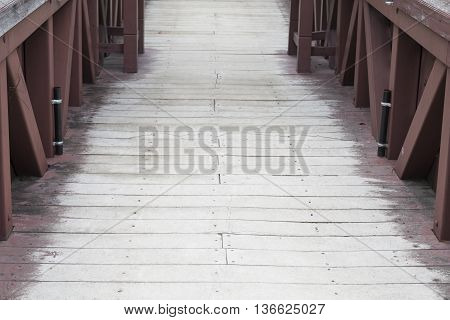 Old Wooden Footbridge