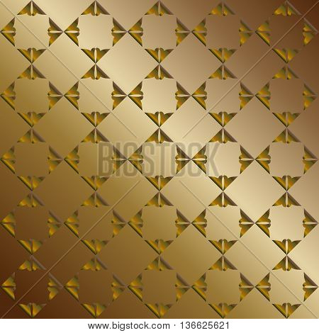 Dark yellow abstract shapes. Abstract background for print and web