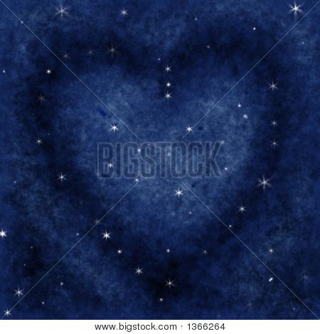 Star Heart In The Galaxy