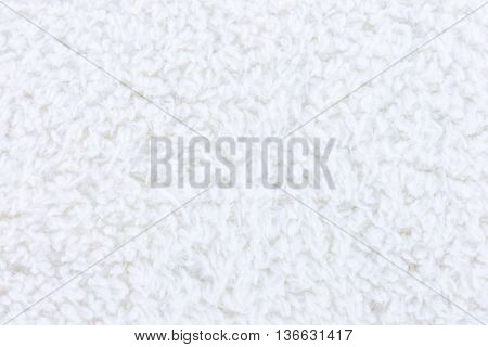 closeup texture and detail of soft white background or backdrop