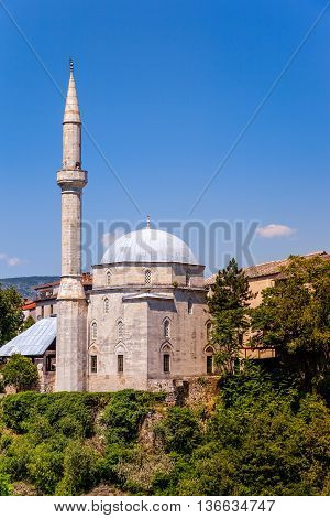 Koski Mehmed Pasha Mosque in Mostar Bosnia and Herzegovina.