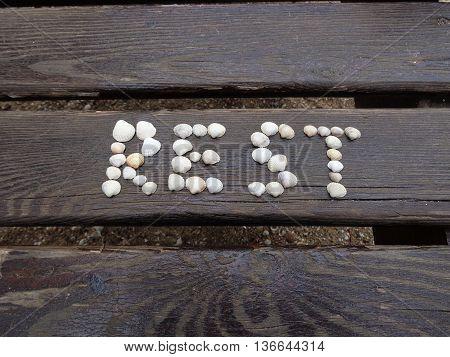 Inscription of shells