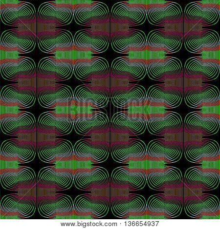It can be used for design of wall papers, fabric pictures and  tile pictures. mathematical methods illustration.
