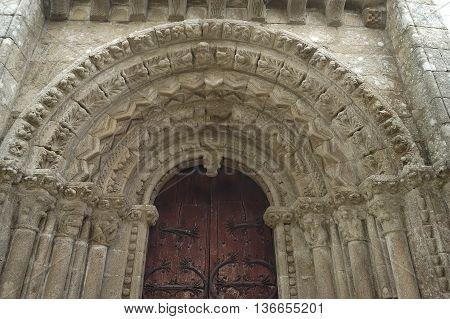 Villar de Donas Church, Palas de Rey, Lugo, Galicia, Spain