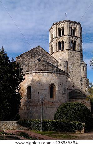 Sant Pere de Galligans church, Girona, Catalonia, Spain