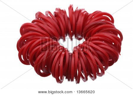Red gaskets