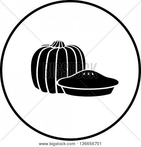 pumpkin pie symbol