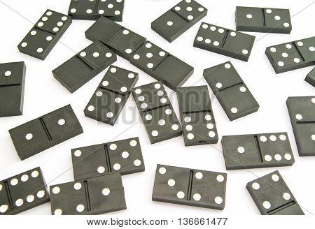 Different Plastic Dominoes