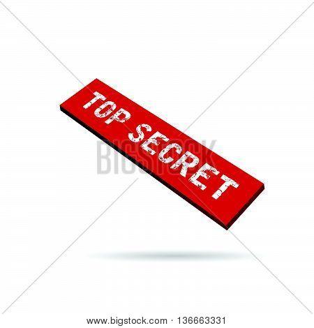 Top Secret Label Illustration