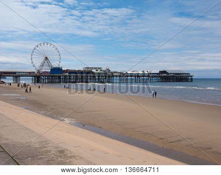 Pleasure Beach In Blackpool