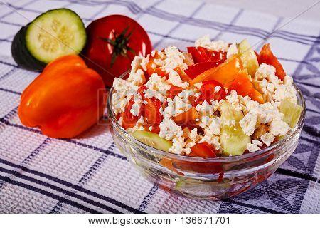 Serbian Traditional Salad