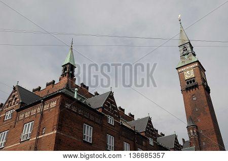 copenhagen, the capital of denmark in scandinavia