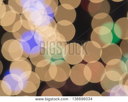 Stock photo - abstract beautiful light background on dark