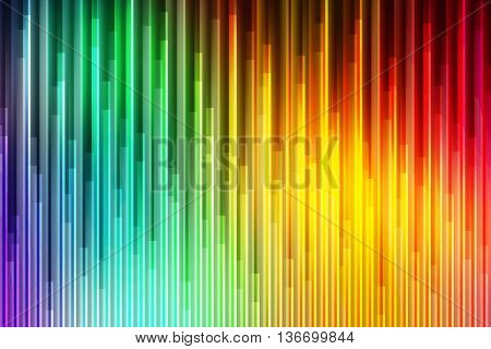 Rainbow colors with pattern blend to create abstract background
