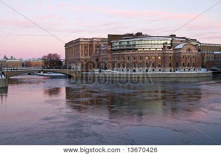 Parliament building.