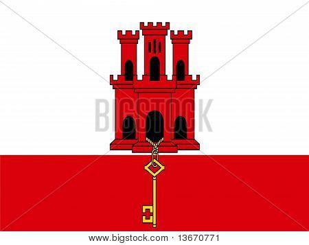 Gibralter Flag