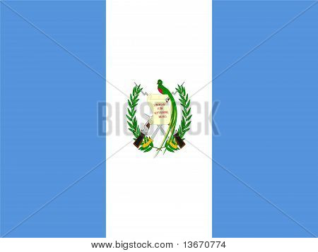 Guatamala national Flag