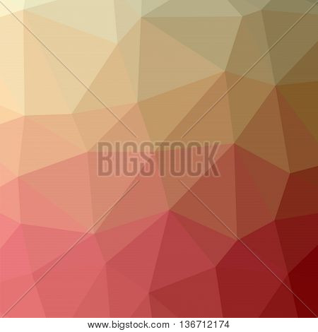 The background triangles. Abstract geometric background with polygons. Background triangulation. Colorpink beige
