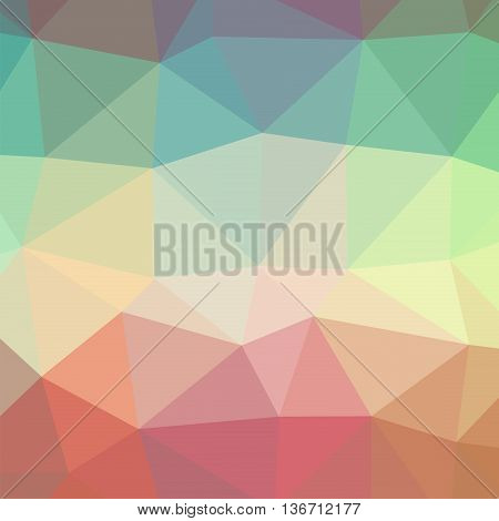 The background triangles. Color rainbow, colorful. Abstract geometric background with polygons. Background triangulation.