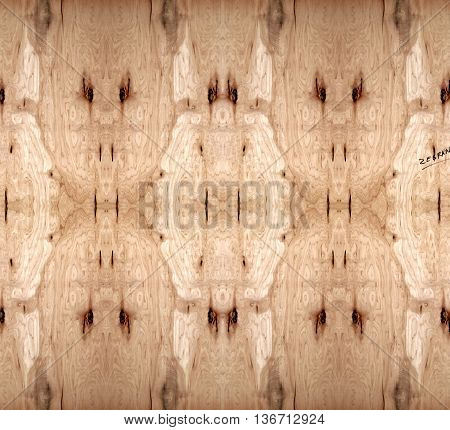 Abstract wooden background with light and darker wood