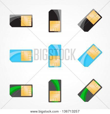 Illustration of designer on white background. Vector eps 10