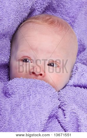 The Child Wrapped In A Blanket