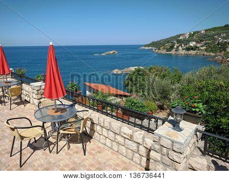 Ulcinj coast view, Montenegro