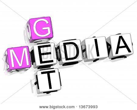 Haz el crucigrama de medios de comunicación