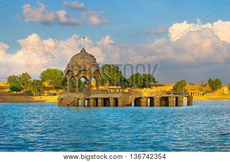 Gadi Sagar Gate in Jaisalmer North India