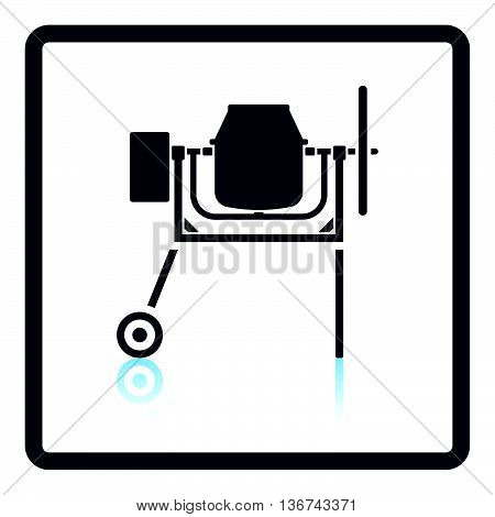 Icon Of Concrete Mixer