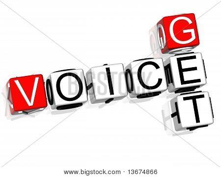 Get Voice Crossword