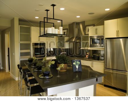 Modern looking kitchen