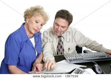 Serie de contabilidad - Senior mujer