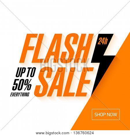 Flash Sale banner