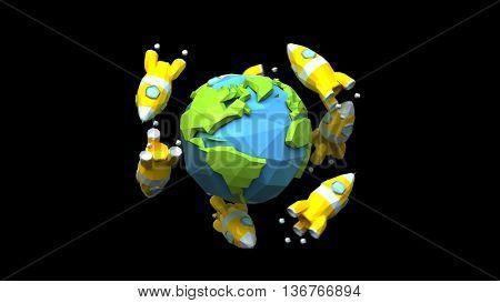 Rockets around the world