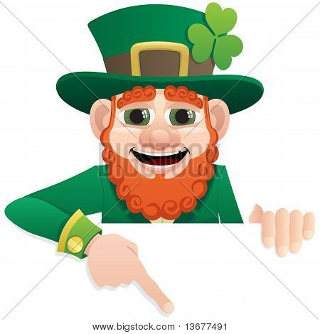 Leprechaun Sign 2