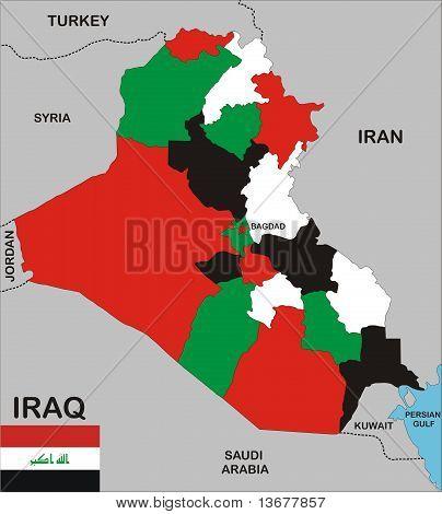Irak-Karte