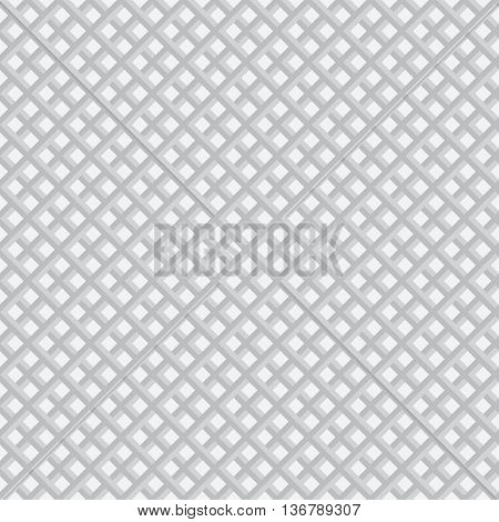 Seamless pattern. Classical stylish texture. Regularly repeating grid with elegant geometric rhombic tiles. Vector seamless background