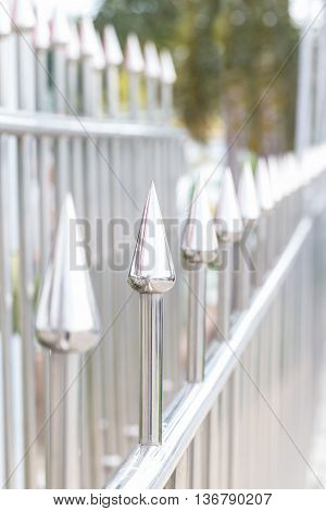 Stainless Steel Sharpened Protection Fence