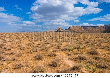 Nice view in Turkmenistan